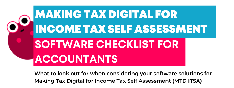 MTD accountant software checklist header