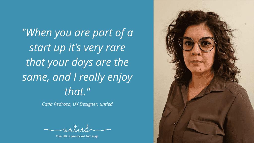 Meet the untied team – Catia Pedrosa, UX Designer