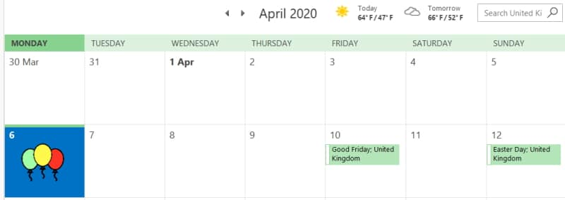 """""""The perfect day to start the year is 6 April"""" (said nobody)"""
