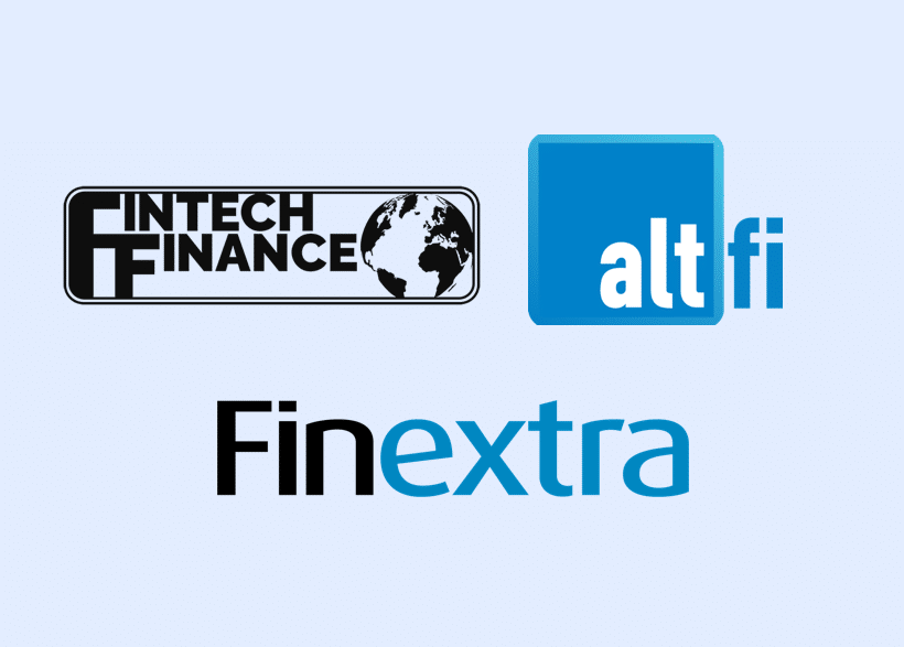 untied features in AltFi, Fintech Finance and Finextra